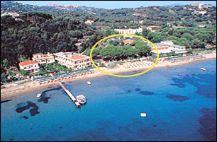 Our hotels on the beach of Naregno